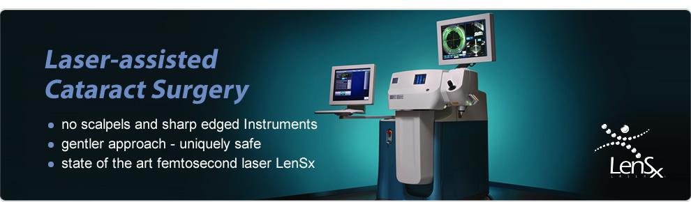Laserová operácia sivého zákalu
